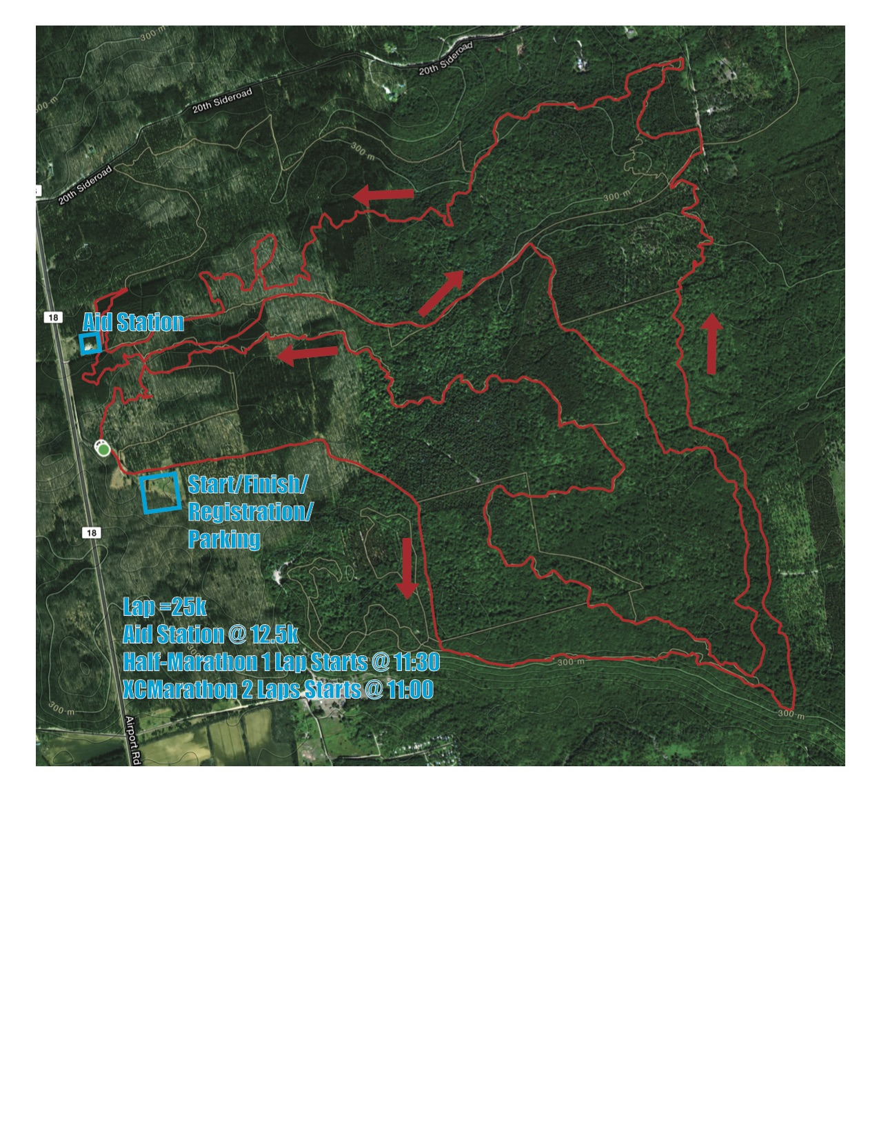 course map h2i 2017