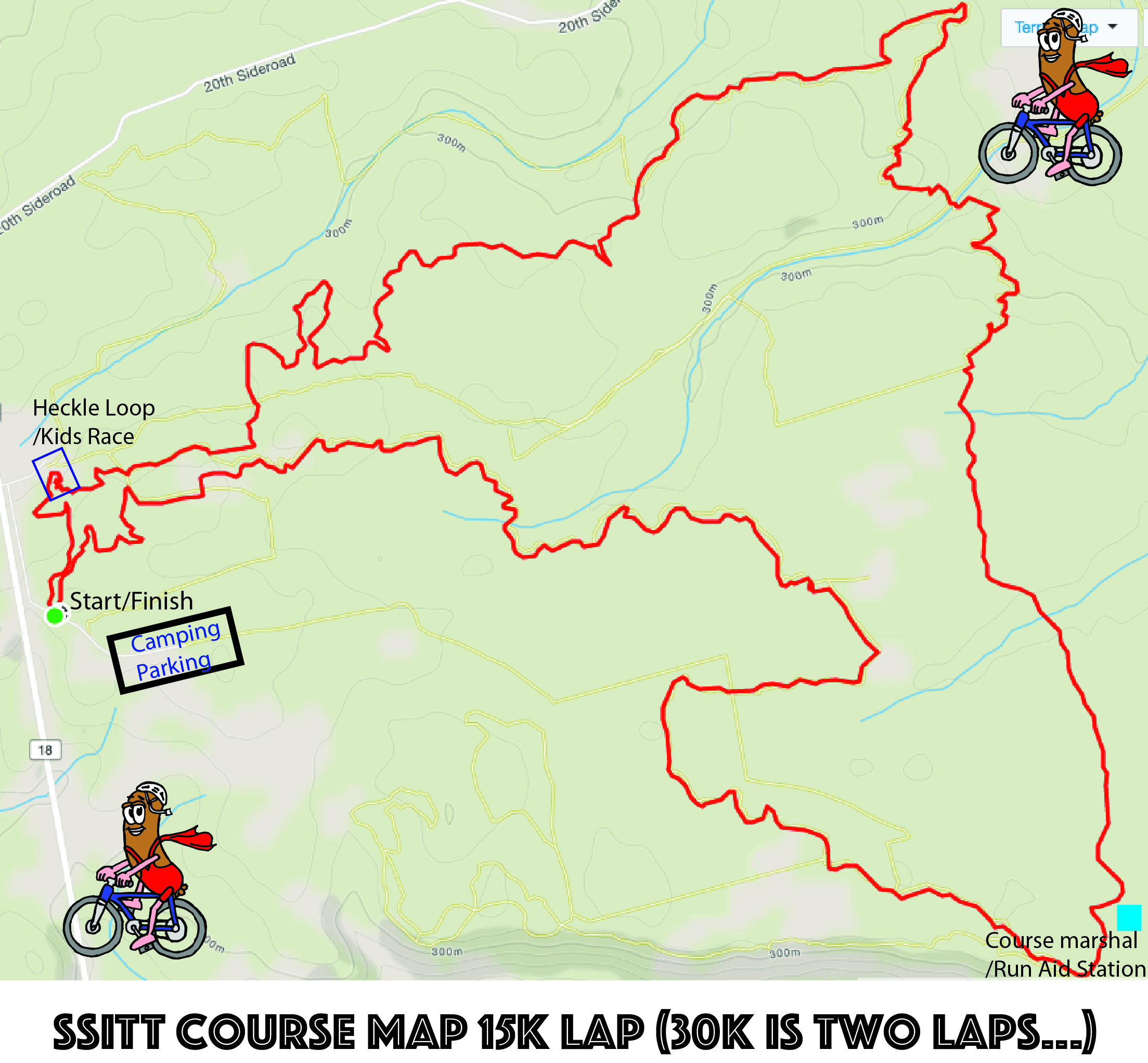 SSITT Course Map 2016