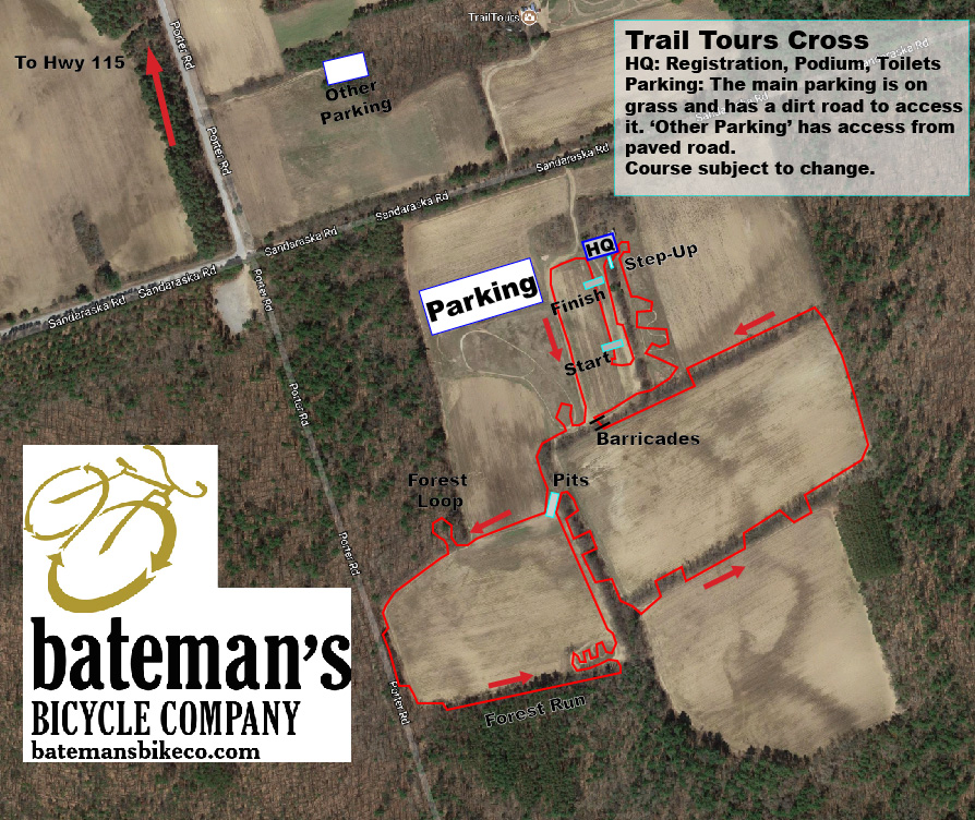 Trail Tours Cross Map